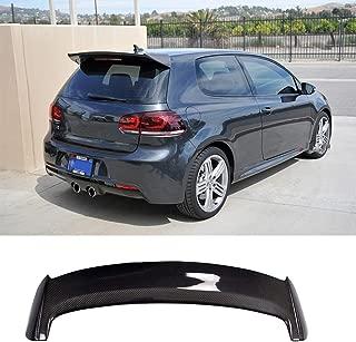 KERIST Rear Spoiler fits Volkswagen VW Golf 6 VII MK6 GTI R20 Hatchback 2010-2013 Roof Window Top Wing Lip