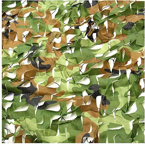 TZSWZW Velas de Sombra militar camuflaje neto de tela Oxford al aire libre for acampar de la sombrilla de la caz militar Persianas que tiran Watching Ocultar temáticas Decoración de fiesta de la sombr