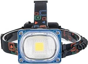 Koplamp LED Koplampen High Power USB Oplaadbare Koplamp COB Groothoek Hoofd Lamp Torch 3 Modi Camping Lantaarn 2x18650 Fro...
