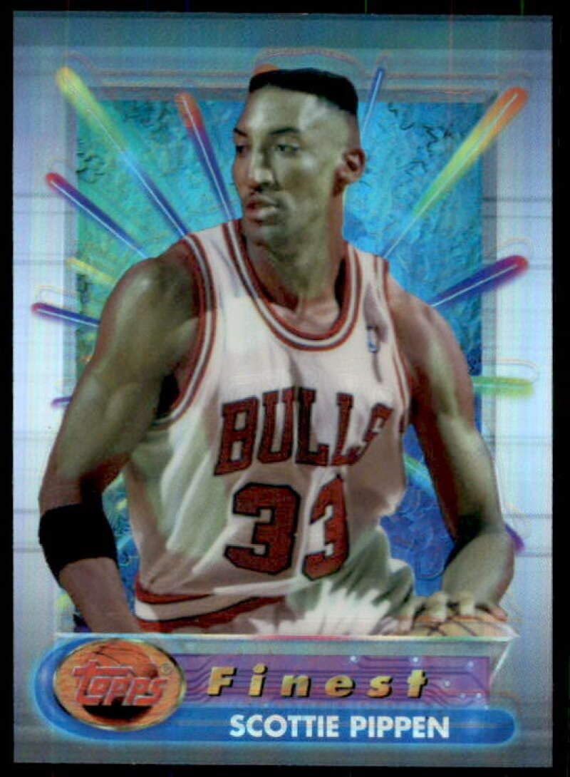 Mail order Colorado Springs Mall cheap Scottie Pippen Card 1994-95 Finest #75 Refractors