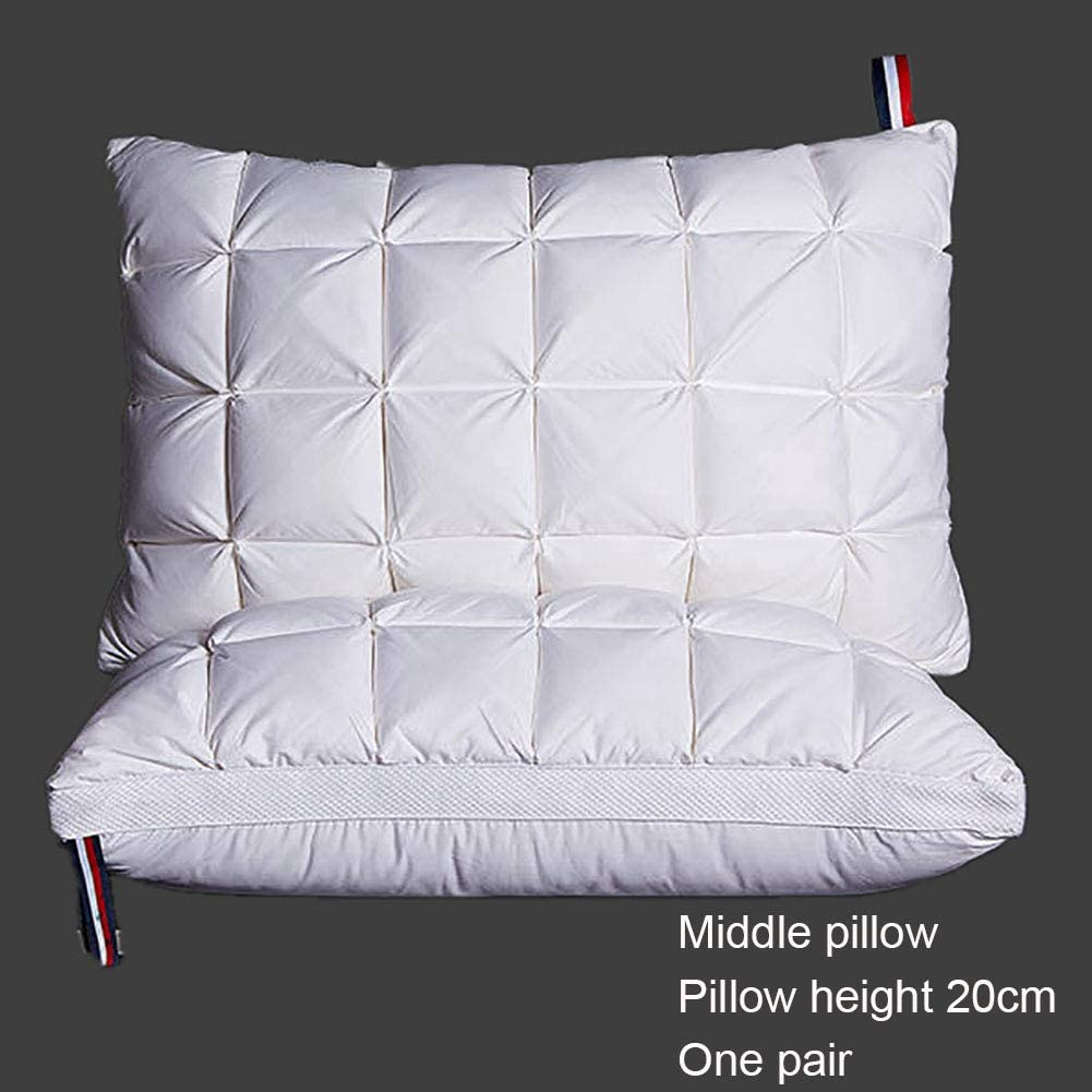 ZJING High-Elastic Three-Dimensional Sleeping Pillow wit Sales results Discount is also underway No. 1 Fitted