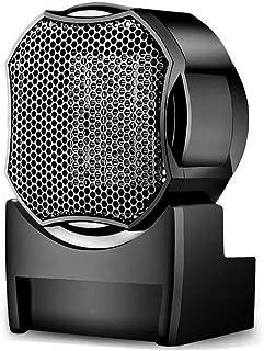 Calentador portátil personal Radiador de pie de cerámica 500W Calentador de espacios Ventilador, Torre de Silencio Sistema de calefacción rápido asa de transporte, for el Ministerio del Interior