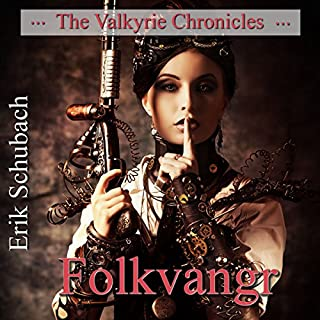 Folkvangr: The Valkyrie Chronicles, Book 3 audiobook cover art