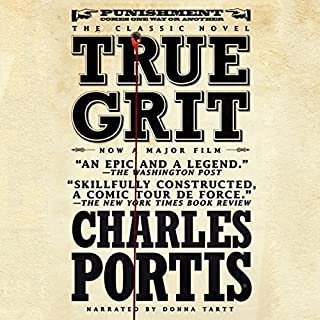 Page de couverture de True Grit