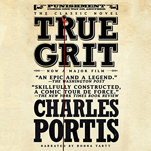 True Grit audiobook cover art