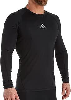 adidas Alphaskin Long Sleeve Compression T-Shirt (841T) 4XL/Black