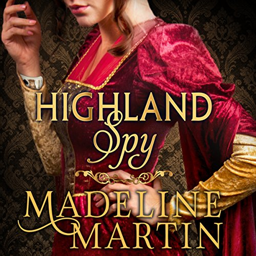 Highland Spy audiobook cover art