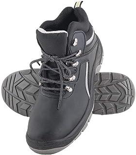 Reis BRCPOLREIS39 Safety Shoes, Black-Grey, 39 Size