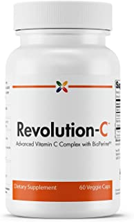 Stop Aging Now - Revolution-C Advanced Vitamin C Formula - Advanced Vitamin C Complex with BioPerine - 60 Veggie Caps