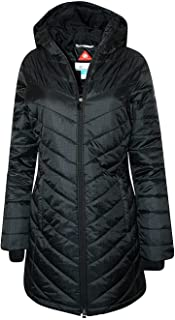 Columbia Women's Morning Light II Omni Heat Long Jacket Coat Puffer