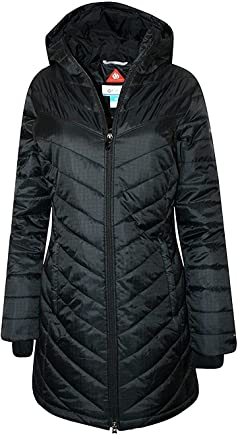 Columbia Women's Morning Light II Omni Heat Long Jacket Coat Puffer