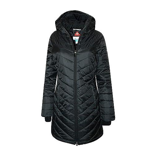 Columbia Women s Morning Light II Omni Heat Long Jacket Coat Puffer e00488e36