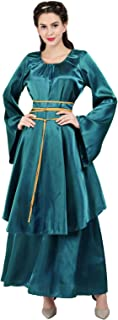 Renaissance Costume Women Plus Size Medieval Dress Halloween Costumes Gothic Gown