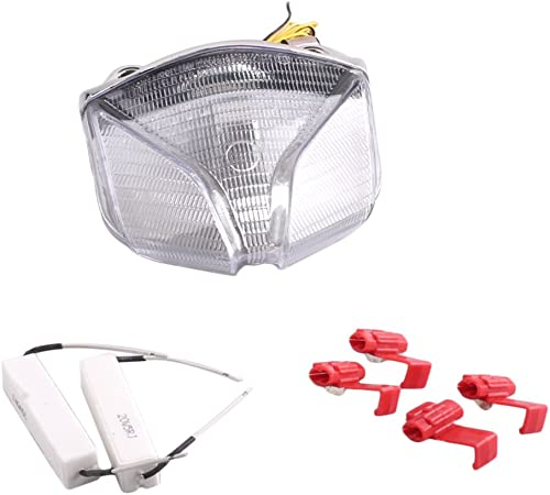 popular Mallofusa Motorcycle Integrated Taillight LED Brake Tail Light Compatible for Kawasaki MV AGUSTA online sale STRADA F4/ F1000/ outlet sale BRUTALE/STRATA 2001-2009 Clear Lens outlet sale