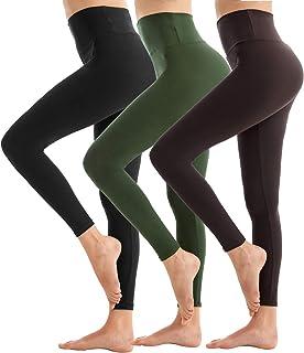 SINOPHANT Hochtaillierte Leggings für Damen - Angenehm Weiche Elastische Blickdichte Leggings mit Bauchkontrolle, Plusgröße Dehnbare Sport- und Yogahosen