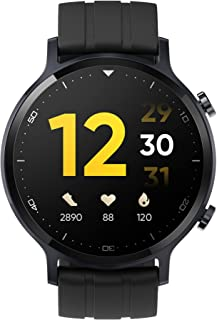 """(Renewed) realme Watch S with 1.3"""" TFT-LCD Touchscreen, 15 Days Battery Life, SpO2 & Heart Rate Monitoring, IP68 Water Res..."""