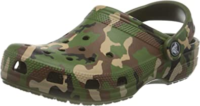 Crocs Unisex Adults' Classic Printed Camo Clog