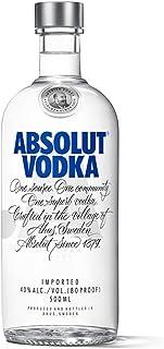 Absolut Vodka Original / Absolute Reinheit und einzigartiger Geschmack in ikonischer Apothekerflasche / Schwedischer Klassiker - ideal für Cocktails und Longdrinks / 1 x 0,5 L