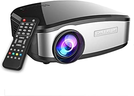 $51 Get Video Projector, GOXMGO Portable Movie Projector With HDMI USB Headphone Jack Mini Projector Good For Home Theater Entertainment Game XBOX ONE 160'' Max Display