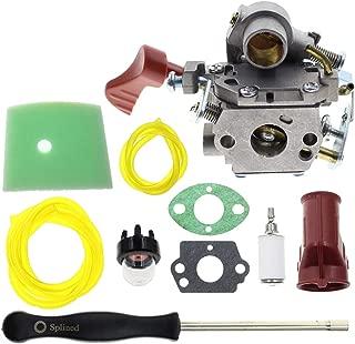 MOTOALL Carburetor Boot Air Filter Carb Adjustment Tool for Poulan Pro PP338PT PP133 PP333 Gas Line 33cc Trimmer 545189502 545008042