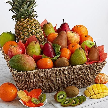 Eshop's Fresh Fruit Basket - Same Day Gift Baskets Delivery - Fresh Fruit Baskets - Fruit Basket Delivery - Organic Fruit Baskets - Best Gift Baskets