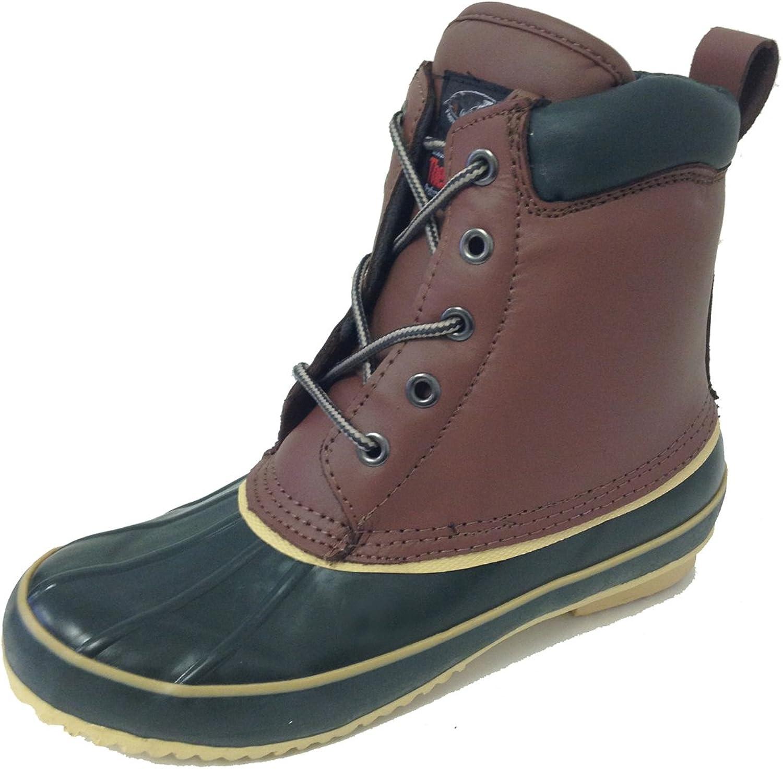 G -9021SC -9021SC -9021SC Woherrar Duck stövlar läder Vattensäker Thermolit Isolerad Hiking 5 -Eye Winter skor bspringaaa  online shopping sport
