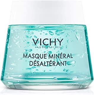 Vichy Mineral Mask with Vitamin B3 to Hydrate & Refresh Dry Skin, Paraben-Free, 2.54 Fl. Oz.