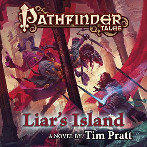 Pathfinder Tales: Liar's Island audiobook cover art