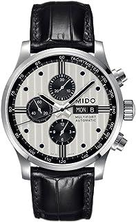 MIDO - Reloj Multiesfera para Hombre de Automático con Correa en Cuero M005.614.16.031.01