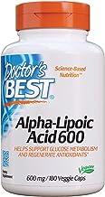 Doctor's Best Alpha-Lipoic Acid, Non-GMO, Gluten Free, Vegan, Soy Free, Helps Maintain Blood Sugar Levels