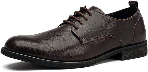 La La La mode masculine souliers décontracté chaussures youth grosse tête,marron foncé,trente - neuf 5ad