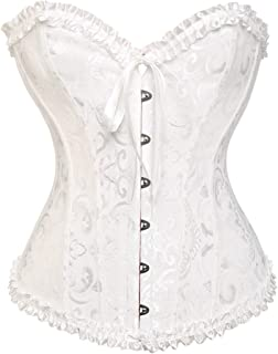 9cab0201f94 XDH-RTS Steampunk Bustier Corset Overbust Women Slimming Corselet Gothic  Clothing Sexy Wedding Lingerie Body