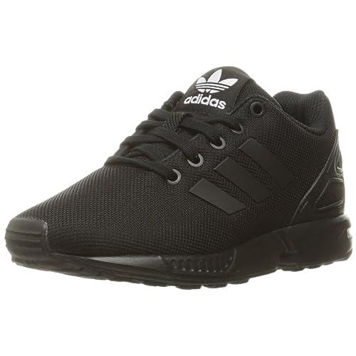 super popular e06e5 63408 adidas Originals Kids  ZX Flux EL C Skate Shoe