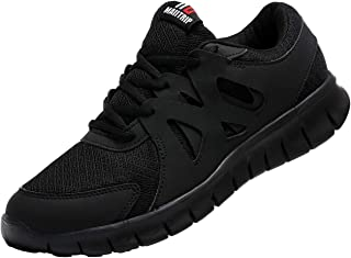 Men's Running Shoes, Lightweight Non-Slip Gym Athletic Sneakers, Breathable Sport Causal Shoes
