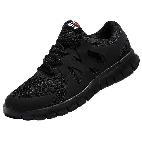 72a4ecfe14 Black Non Slip Shoe: Amazon.com