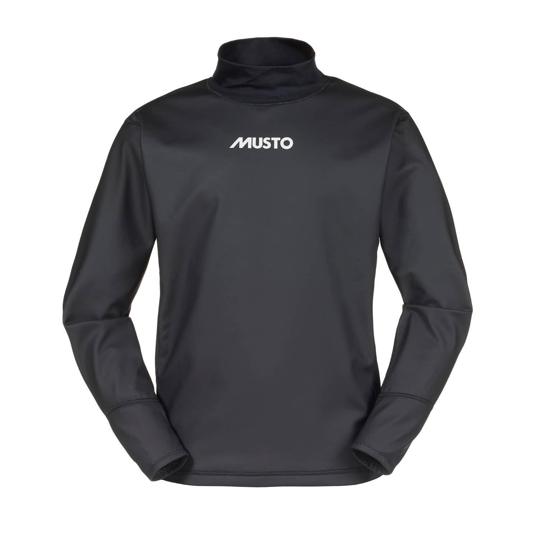 Musto Aqua - Camiseta (impermeable, interior de vellón), color negro Talla:small: Amazon.es: Deportes y aire libre