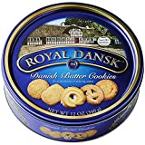 Gourmet Food Gifts! - Royal Dansk Danish Cookie Selection, No Preservatives or Coloring Added, 12 Ounce