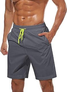 TACVASEN Men's Summer Quick Dry Swim Trunks Bathing Suit Shorts with Lining Men