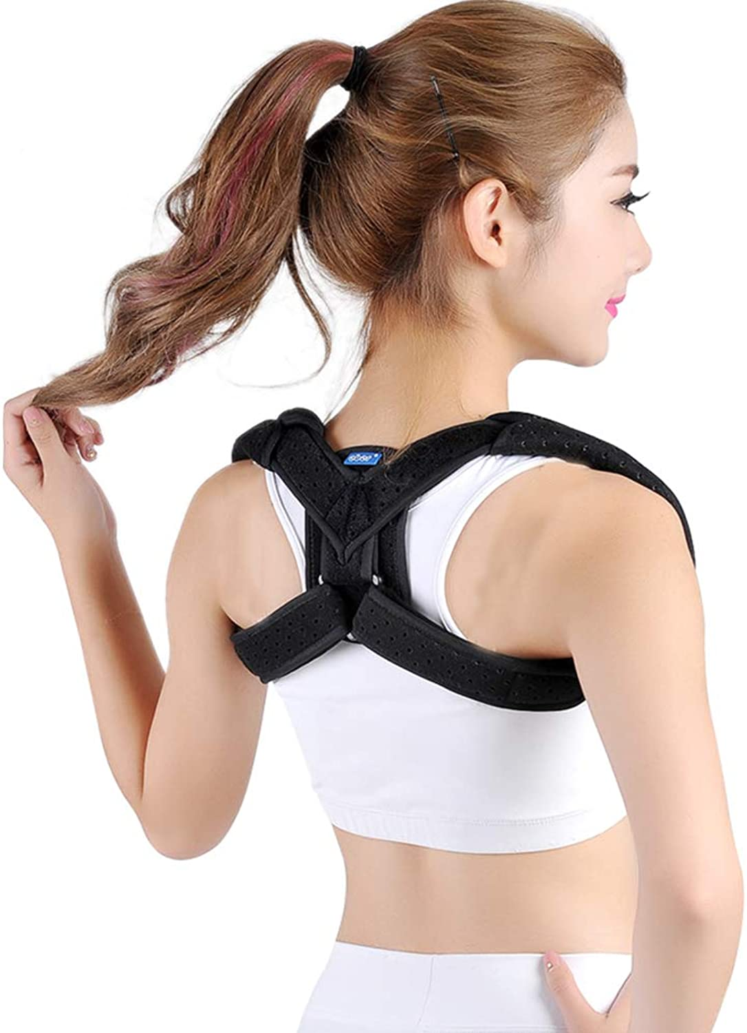 The Best Posture Support Orthosis and Orthosis for Women and Men, Figure 8 Supports The Shoulder Support, Ideal for Relieving Pain in The Back and Neck