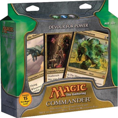 Magic The Gathering Commander (EDH) Set Devour for Power Green, Blue Black