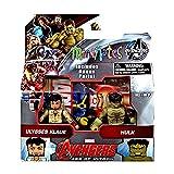 Marvel Avengers Age of Ultron Minimates Series 63 Ulysses Klaue & Hulk 2' Minifigure 2-Pack