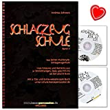 Schlagzeugschule Band 2 von Andreas Schwarz - 1100 Grooves und Patterns aus 21 Stilrichtungen, dazu...