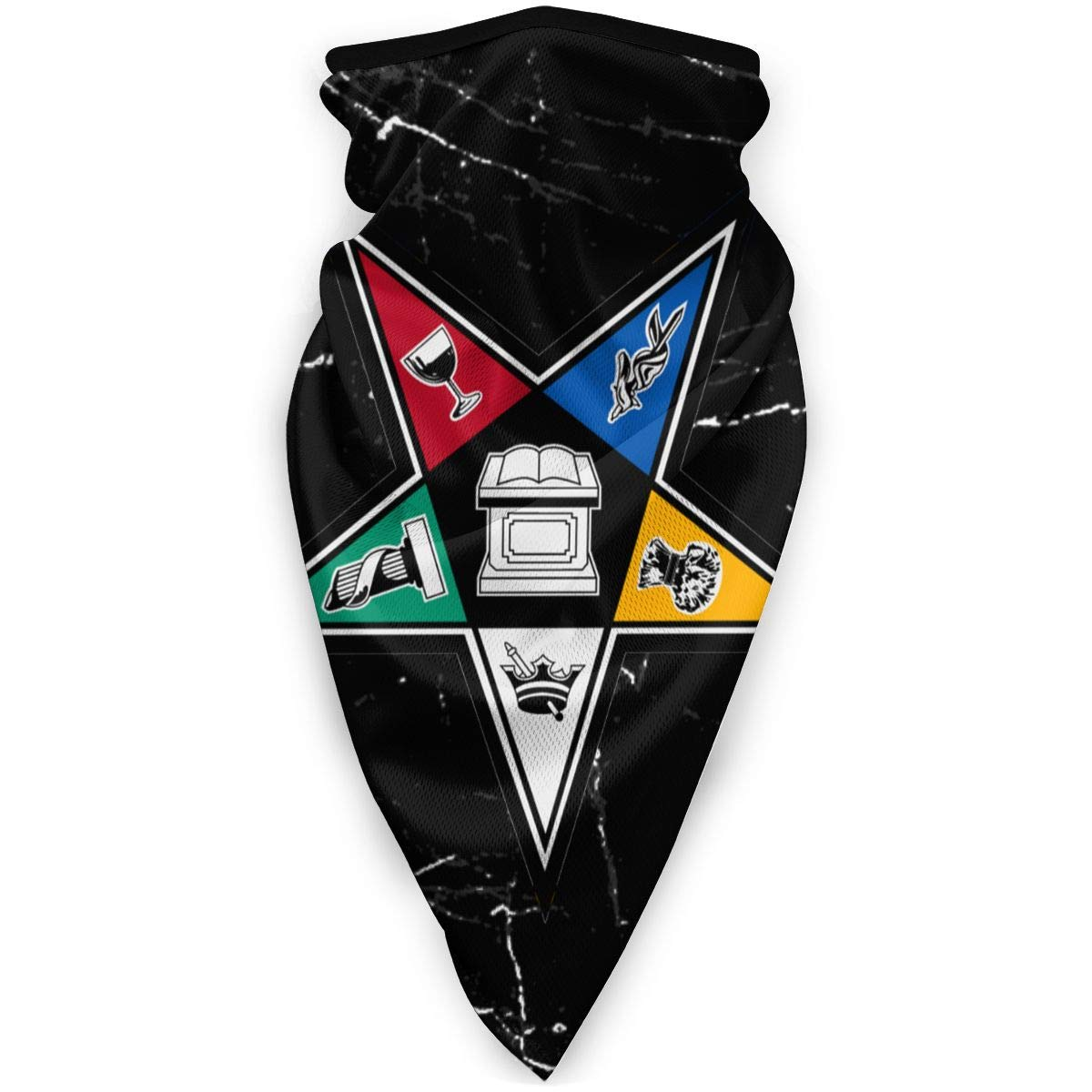 Order of Eastern Star Windproof Sports Mask Unisex Outdoor Mask Black