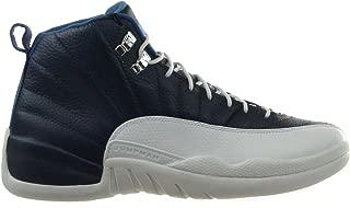 Jordan Air 12 Retro Obsidian Men's Shoes Obsidian/University Blue-White-French Blue