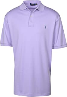 Polo RL Men's Big and Tall Interlock Polo Shirt (Periwinkle Purple, 1XB)
