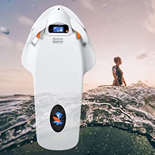 HTOMT 2019 Underwater Scooter Sea Scooter 4-Level Rotational Speed,Go Pro Compatible Camera Mount for Shallow Dives,Snorkeling Adventures or Chasing Fish