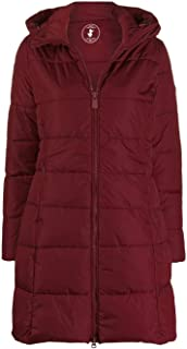Save The Duck Luxury Fashion Womens D4311WMEGA901501 Burgundy Down Jacket | Fall Winter 19