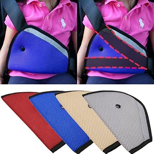 Eximtrade Auto Cintura di Sicurezza Cinghia Imbracatura Bambini Bambino Piccolo Sicurezza Posizionatore (Blu)