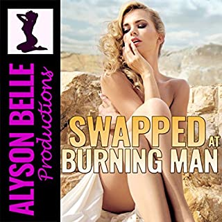 Swapped at Burning Man audiobook cover art