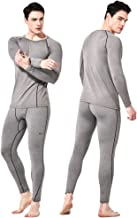 Feelvery Men's HEATPRO Active Performance Long Johns Thermal Underwear Set with Excellent Soft Warm Fleece Lined
